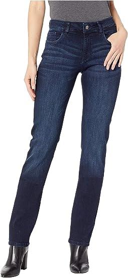 Coco Mid-Rise Curvy Straight Leg in Nicholson