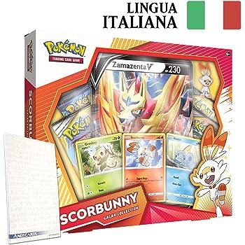 Collezione Galar • GROOKEY ZAMAZENTA • Lingua ITALIANA • POKEMON