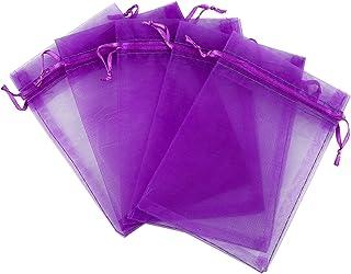 Akstore 100pcs 3.6x4.8 Organza Gift Bags