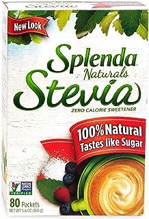 Splenda, Stevia Sweetener Packets, 5.6oz (80 ct)