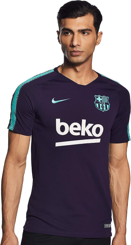 NIKE FC Barcelona Breathe Squad - Camiseta Hombre