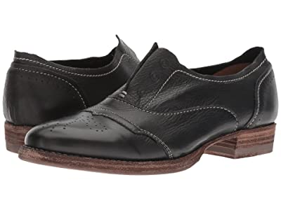 Blackstone Slip-On Cap Toe HL55 (Black) Women