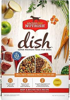 Rachael Ray Nutrish Dish Super Premium Dry Dog Food with Real Meat, Veggies & Fruit