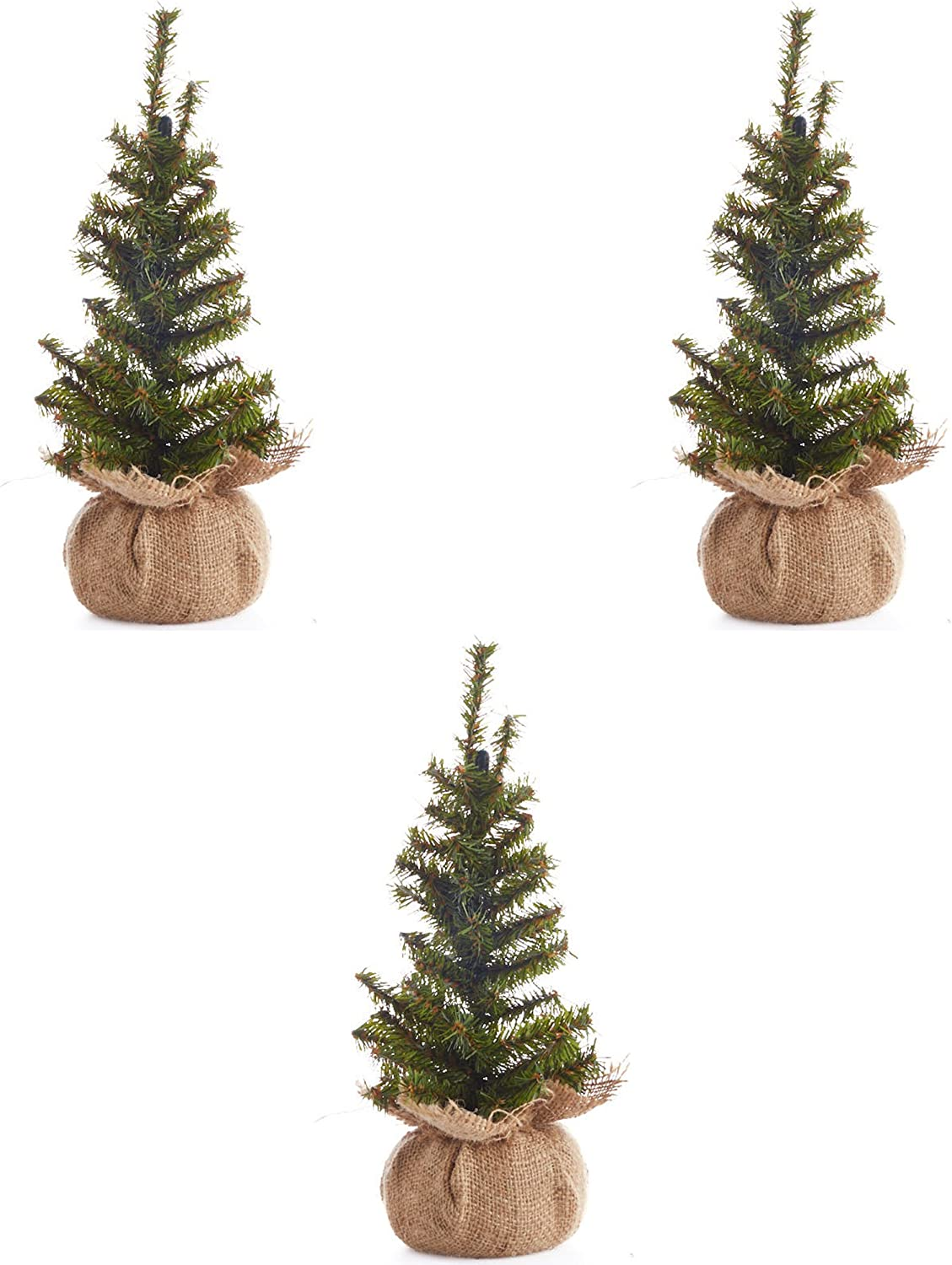 Factory Direct Craft Group of 3 Tr store Christmas Pine High material 12