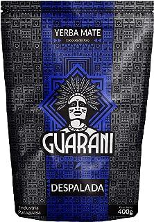 Guarani Yerba Mate Despalada 400g | Guarani Sin Palo | Yerba Mate de Paraguay | Alta calidad | Fuerte Estimulación