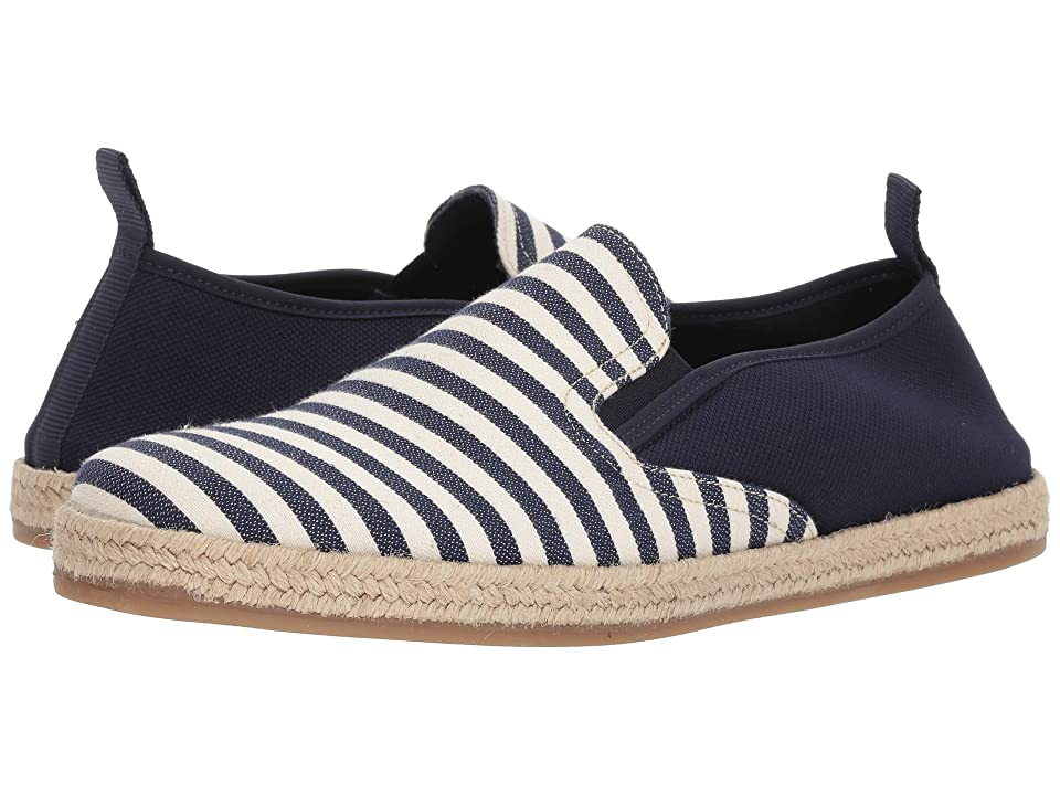 PARC City Boot Pier Espadrille (Navy Stripe) Men