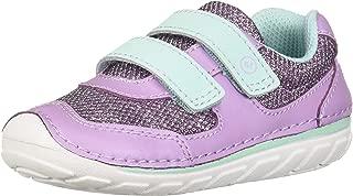 Stride Rite Soft Motion Mason Boy's/Girl's Athletic Sneaker, LILAC 5 M US Big Kid