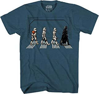 STAR WARS Death Star Road Stormtrooper Crossing Mens T-Shirt