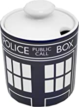 BBC Doctor Who Official Merchandise Sugar Bowl - Blue (Dispatched From UK)