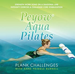 Peyow Aqua Pilates- Plank Challenges - Strength Work Done on a Diagonal Line. Intensify Exercise and Challenge Core Stabilization