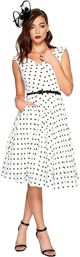 Unique Vintage - Sleeveless Doris Swing Dress