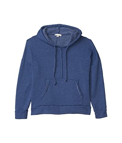 FP Movement Work It Out Hoodie (Indigo Blue) Women