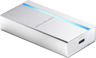 AVerMedia ExtremeCap UVC, tarjeta de captura HDMI a USB 3.0, grabar, transmitir y convertir video Full HD sin comprimir a 1080p60, sin controlador, compatible con Windows, Mac y Linux OS (BU110)