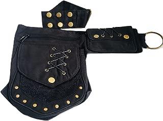Practical Fannypack Cotton Waistbag Hipbag Travel Utility Travel Belt