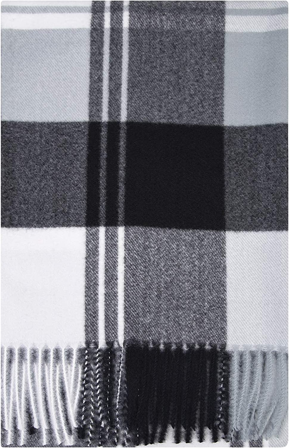 ZOMFUSK Winter Women Plaid Scarf Soft outlet Thick Large Bombing new work Warm Extra Lig