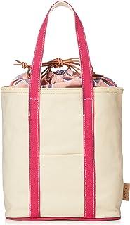 [コルデ] カラーハンドル巾着付きトートバッグ 3201-305-1