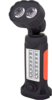 Wolfteeth WL7284 Hands-Free COB LED Torch Garage Flashlight with Adjusting Stand, Hanging Hook and Magnet Base