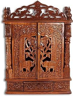 Best wooden puja ghar Reviews