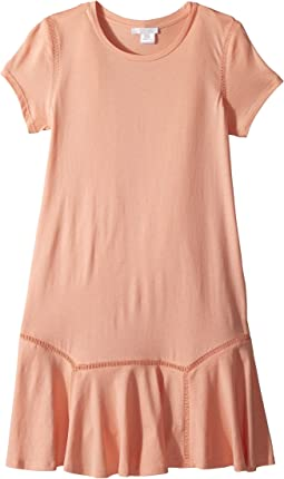 Chloe Kids Jersey Essential Short Sleeve Dress (Big Kids)