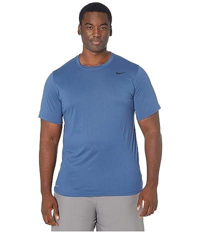 Nike Big Tall Legend 2.0 Short Sleeve Tee (Mystic Navy) Men