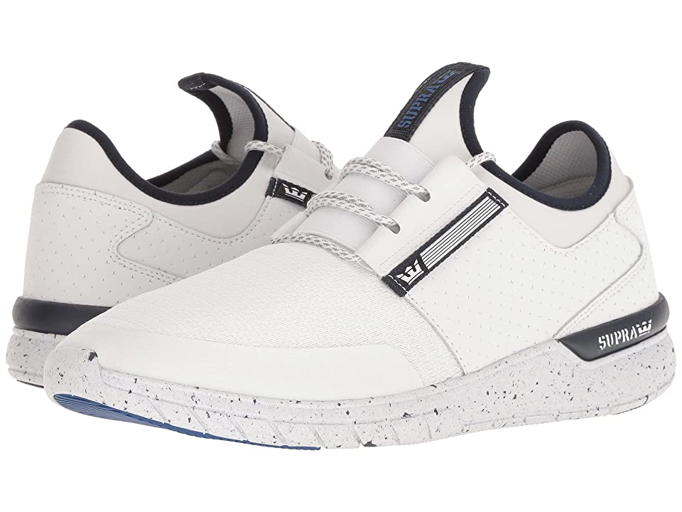 Supra Flow Run (White/Navy/White) Men