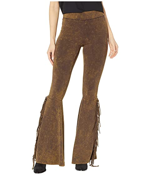 Rock and Roll Cowgirl Flared Fringe Leggings 78-9369