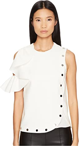 Sportmax - Afro Cold Shoulder Top