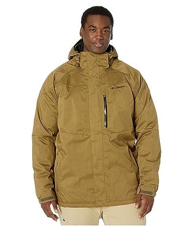 Columbia Big Tall Alpine Actiontm Jacket (Olive Brown) Men