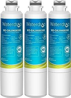 Waterdrop DA29-00020B Refrigerator Water Filter, Compatible with Samsung DA29-00020B, DA29-00020B-1, Haf-Cin/Exp, 46-9101,...