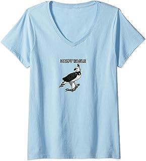 Harpy Eagle V-Neck T-shirt