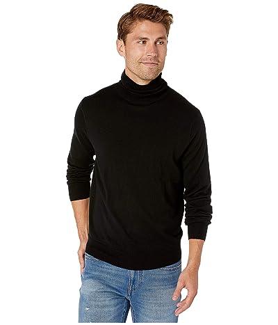 J.Crew Xinao Merino Turtleneck Sweater (Black) Men