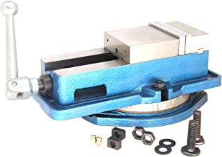 "HFS (Tm) 3"" Milling Machine Lockdown Vise -Swiveling Base – Hardened Metal.."