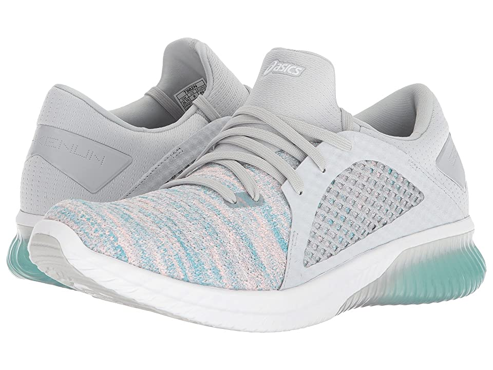 ASICS GEL-Kenun Knit (Aruba Blue/Glacier Grey/White) Women