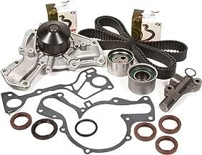 Evergreen TBK195HWPT Fits 91-99 3000GT Dodge Stealth Turbo 3.0L V6 Timing Belt Kit Tensioner Water Pump