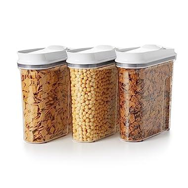 OXO Good Grips 3-Piece Airtight POP Cereal Dispenser Set