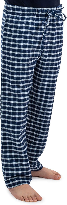 Big Boys' Pajama Bottoms Pants- Flannel Cotton Lounge Sleepwear with Pockets.