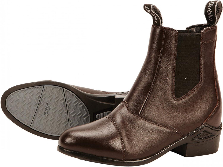 Dublin Defy Jodhpur Boots  Dark Brown  Adults 4