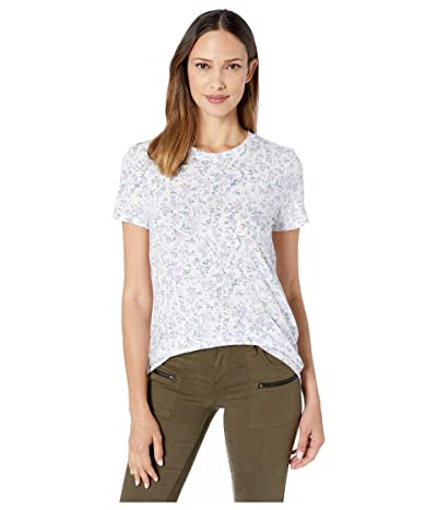 Lucky Brand All Over Floral Tee (Lavender Print) Women