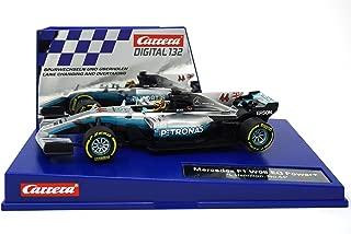 Carrera 20030840 30840 Mercedes-Benz F1 W08 L. Hamilton No. 44 1: 32 Scale Digital 132 Slot Car Racing Vehicle, Gray