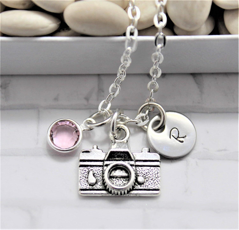 Camera Necklace Cheap SALE San Jose Mall Start - Silver Gift Pe Photographer Jewelry