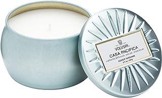 Voluspa ボルスパ ヴァーメイル ティンキャンドル S カーサパシフィカ CASA PACIFICA VERMEIL PETITE Tin Glass Candle