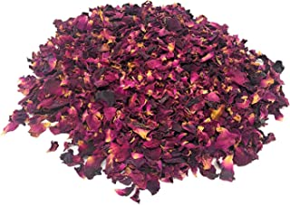Red Petals Rose Buds Organic 1 pounds body care products, sprinkles for bath/decoration