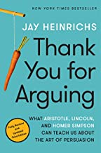 Best thank you for arguing 3rd edition Reviews