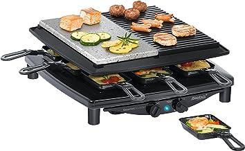 Steba RC 4 PLUS Barbecue (Noir Place Table 37 cm 39 cm 14 cm)