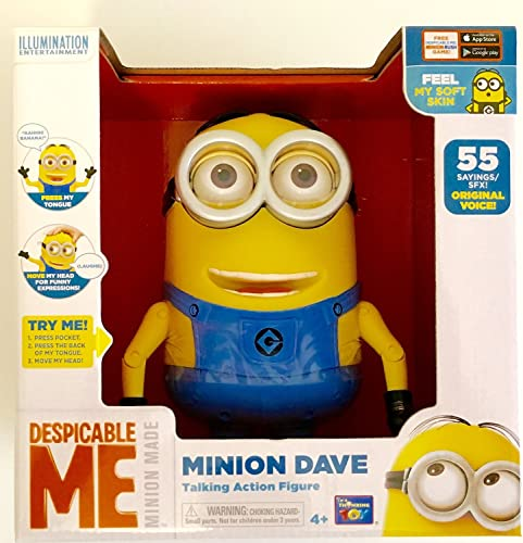 Despicable Me Minion Dave Talking Action Figure