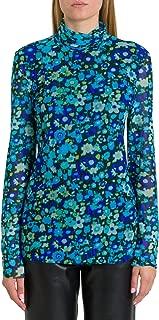 GANNI Luxury Fashion Womens T2421697 Light Blue T-Shirt | Fall Winter 19