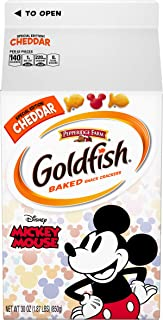 Pepperidge Farm Special Edition Disney Mickey Mouse Cheddar Crackers, 30 oz. Carton
