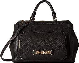 Logo Jacquard Handbag