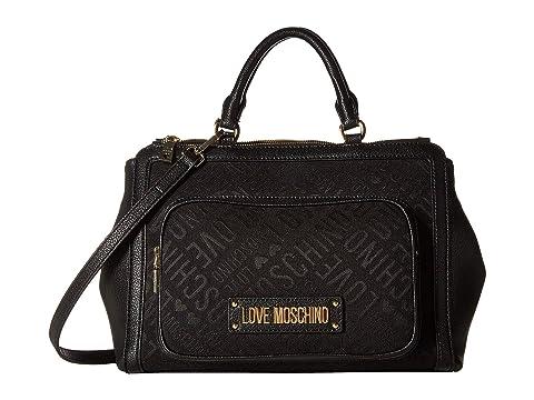 LOVE Moschino Logo Jacquard Handbag