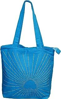 flevado Damen Schultertasche Freizeittasche Strassstein Musterung Farbe wählbar